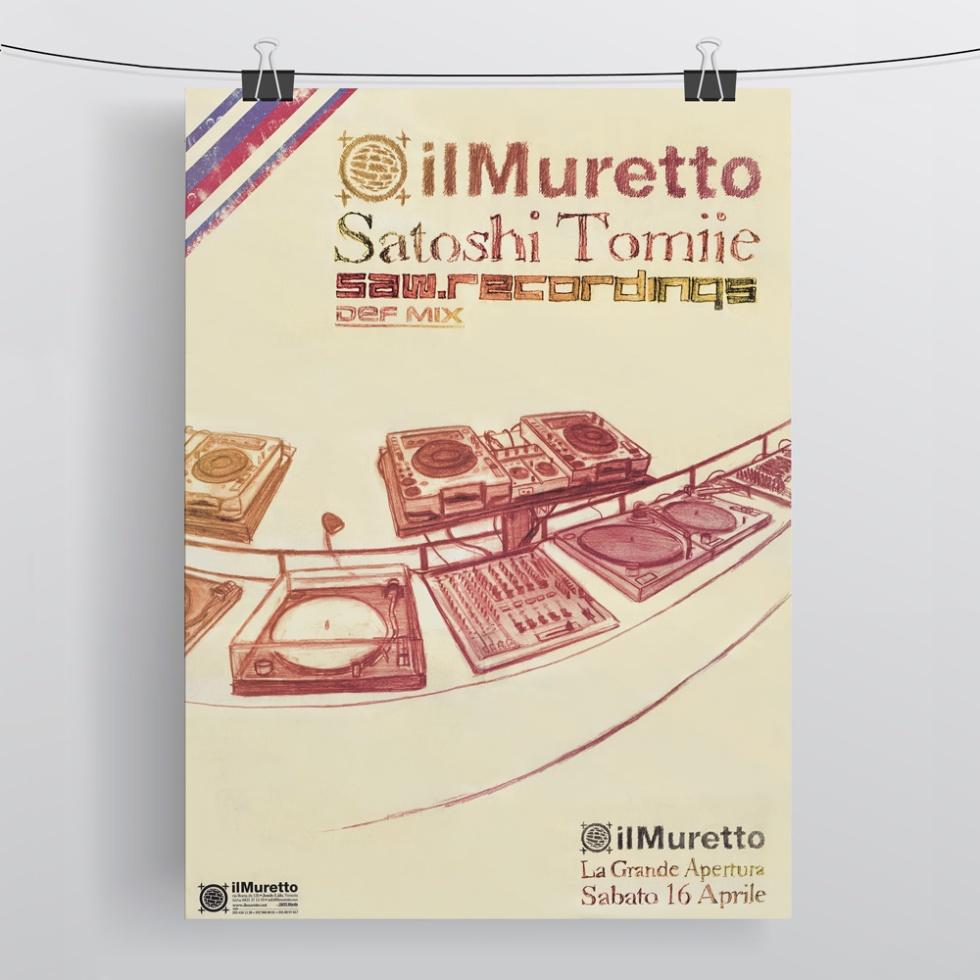 Muretto Poster pic