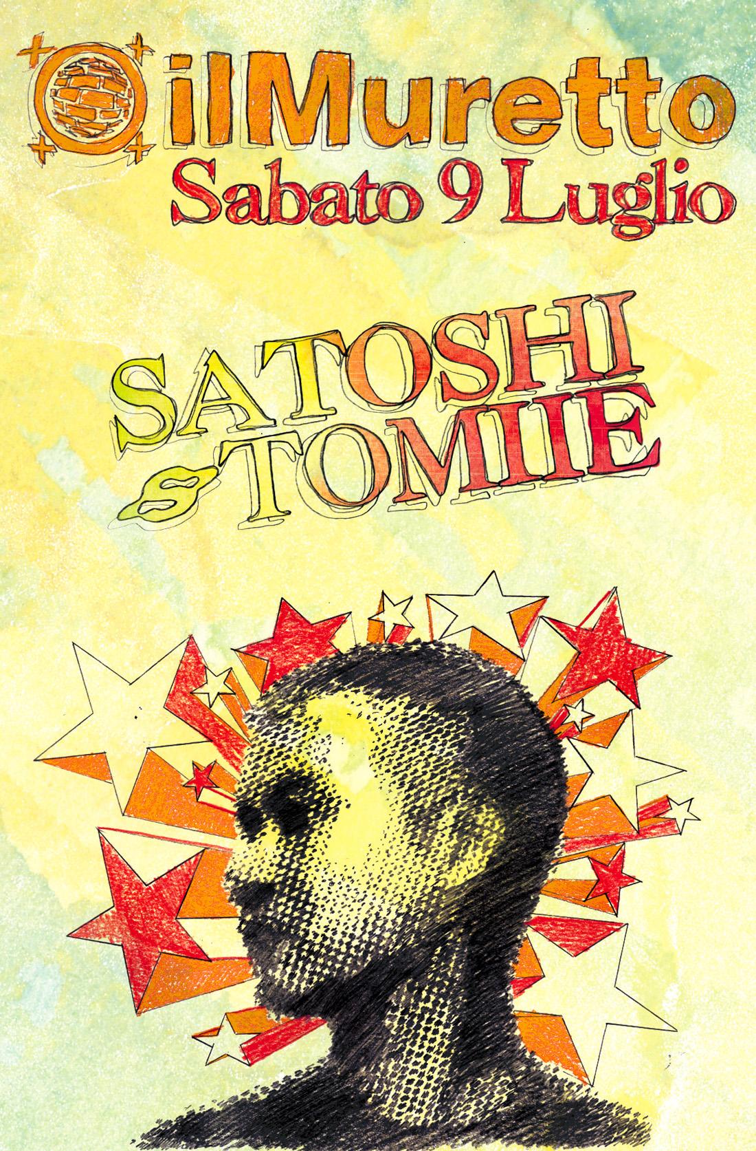 Satoshi Tomiie portrait for dj set night Il Muretto