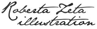Roberta Zeta Illustration logo