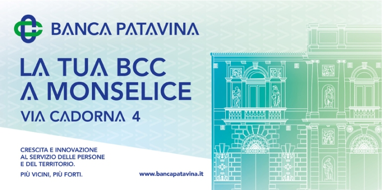 Banca Patavina's poster with Villa Duodo